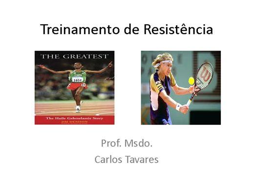 Curso Online de Treinamento da Resistência