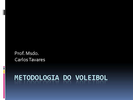 Curso Online de Metodologia do Voleibol