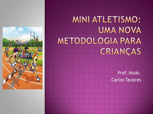 Curso Online de Mini Atletismo: uma nova abordagem para crianças