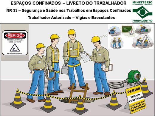 Curso Online de NR 33 - Segurança e Saúde em Trabalhos em Espaços Confinados - Vigia e Executantes