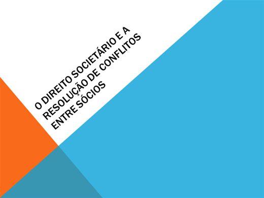Curso Online de MEDIAÇÃO DE CONFLITOS ENTRE SÓCIOS