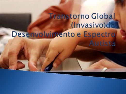 Curso Online de Transtorno Global do Desenvolvimento