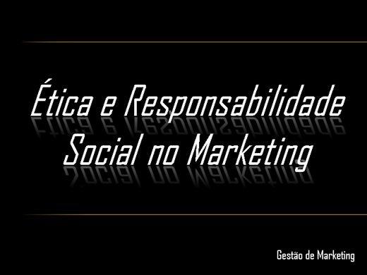 Curso Online de Ética e Responsabilidade Social no Marketing