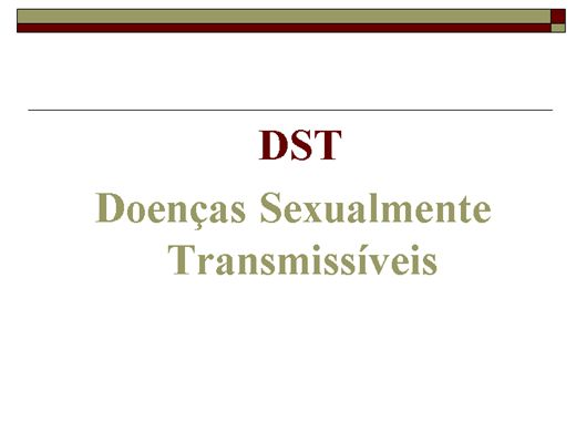 Curso Online de DST
