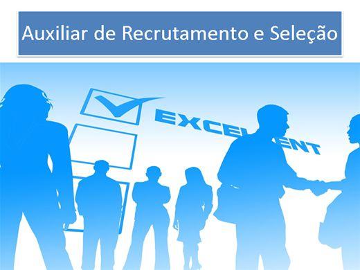 Curso Online de Auxiliar de Recrutamento e Seleção.