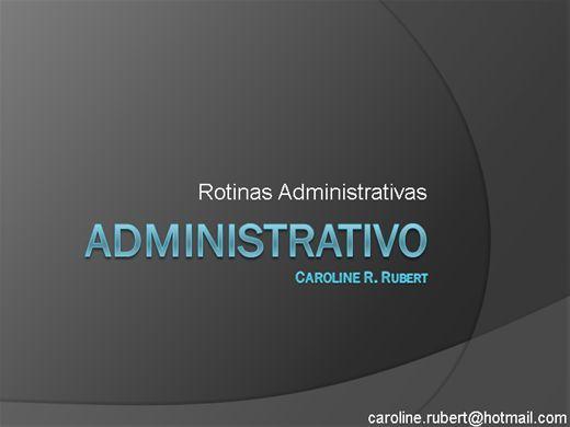 Curso Online de Rotinas Administrativa