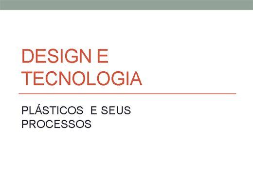 Curso Online de TECNOLOGIA DE MATERIAIS - PLÁSTICOS e seus processos