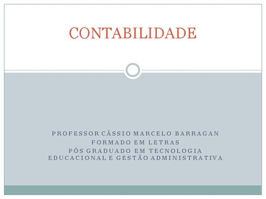 Curso Online de Contabilidade Básica