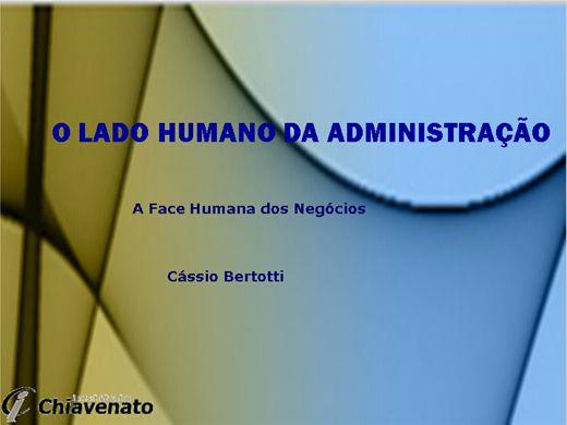 Curso Online de O lado humano da administração