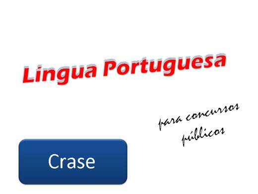 Curso Online de Língua Portuguesa para Concursos Públicos - Parte 1
