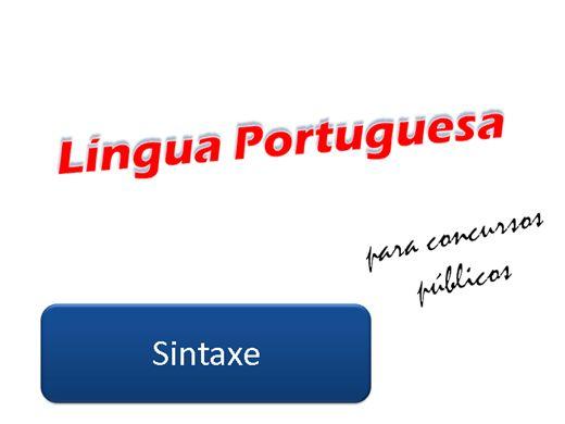 Curso Online de Língua Portuguesa para Concursos Públicos - Parte 2