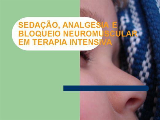 Curso Online de Sedação e analgesia em UTI