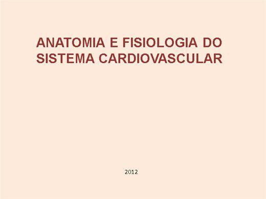 Curso Online de Anatomia e fisiologia do sistema cardiovascular