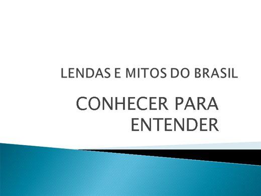 Curso Online de FOLCLORE:LENDAS E MITOS DO BRASIL