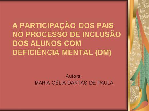 Curso Online de PAIS E PROFESSORES UNIDOS PELA INCLUSÃO SOCIAL.