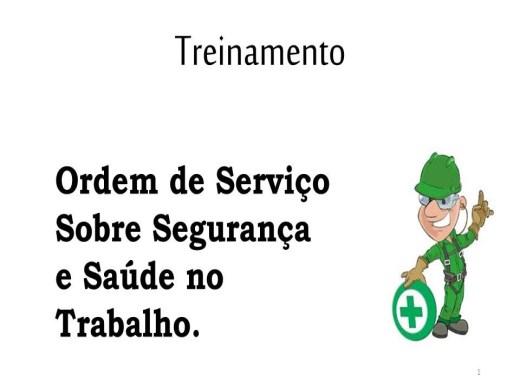 Curso Online de Instrução Ordem de Serviço - NR 01