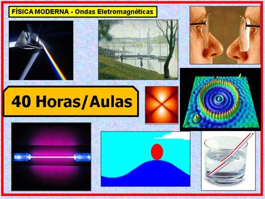 Curso Online de FÍSICA MODERNA - Ondas Eletromagnéticas