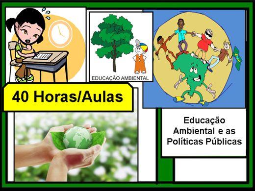 Curso Online de Educação Ambiental e as Políticas Públicas