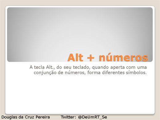 Curso Online de Alt