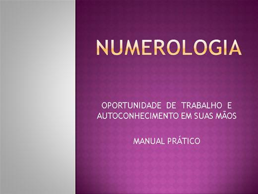 Curso Online de NUMEROLOGIA- Faça do mapa numerológico um negócio lucrativo.
