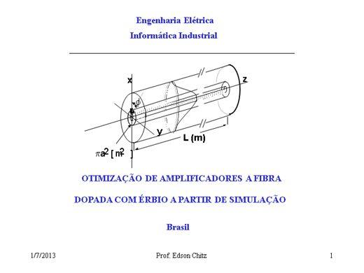 Curso Online de Comunicação por Fibra Ótica: Amplificador Ótico