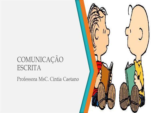 Curso Online de COMUNICAÇÃO ESCRITA