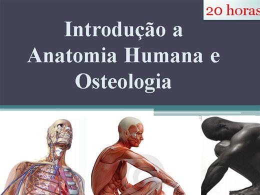 Curso Online de Introdução a Anatomia Humana e Osteologia