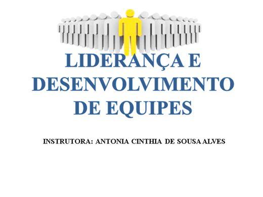 Curso Online de LIDERANÇA E DESENVOLVIMENTO DE EQUIPES