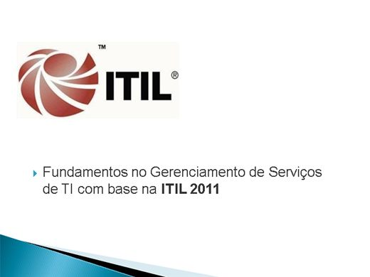 Curso Online de Introdução ao ITIL 2011