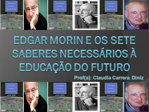 Curso Online de Edgar Morin e os sete saberes necessários à educação do futuro