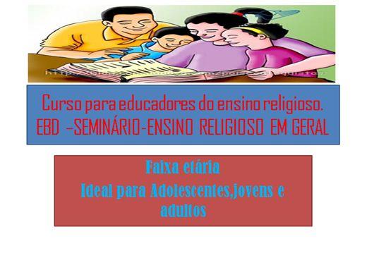 Curso Online de Professores de Ensino Religioso