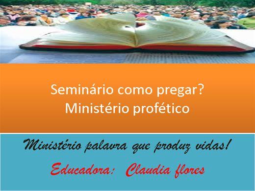 Curso Online de Seminário: Como pregar?