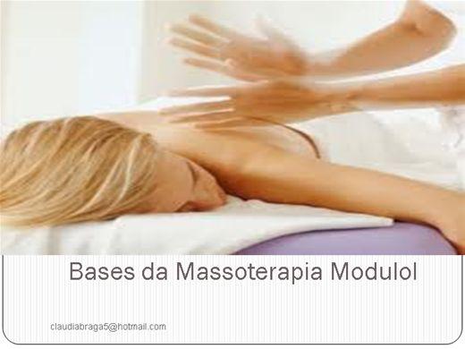 Curso Online de Bases da Massoterapia