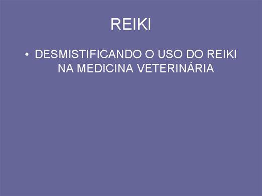Curso Online de Desmistificando o uso de reiki para animais