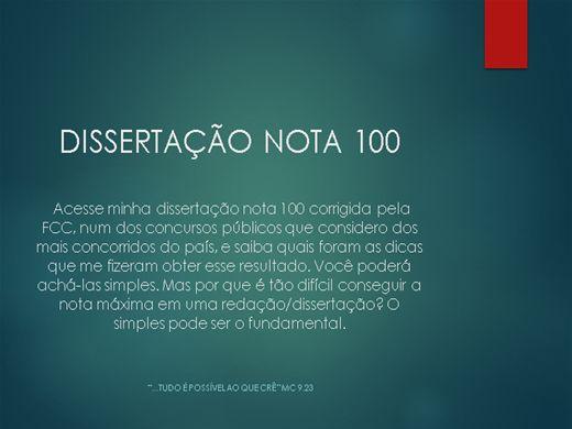Curso Online de Redação Nota 100