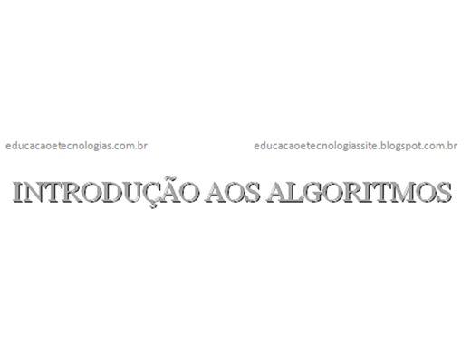 Curso Online de INTRODUÇÃO AOS ALGORITMOS