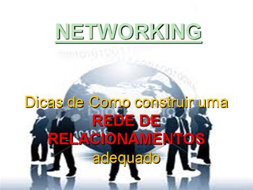 Curso Online de Como construir um Networking adequado