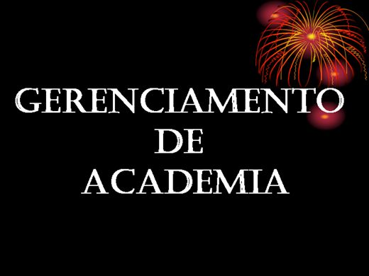 Curso Online de Gerenciamento de academia.