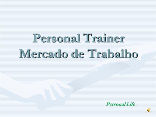 Curso Online de Mercado de trabalho do personal trainer.