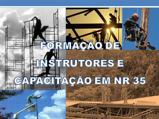 Curso Online de FORMAÇÃO DE INSTRUTORES E CAPACITAÇÃO EM NR 35
