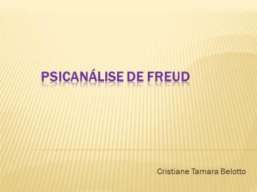 Curso Online de A Psicanálise de Freud