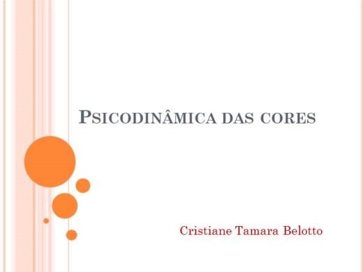 Curso Online de  Psicodinâmica das cores
