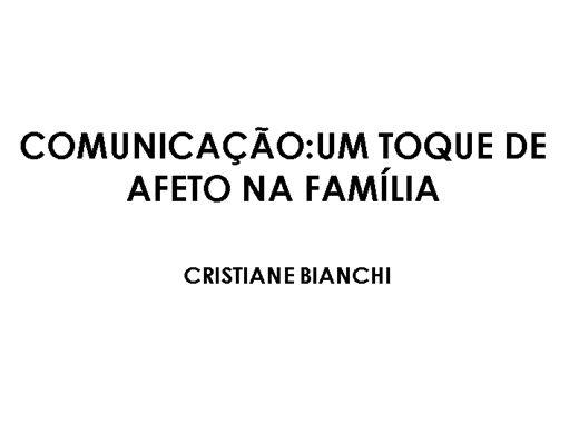 Curso Online de Comunicação: Um toque de afeto na familia