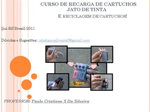 Curso Online de Recarga de Cartuchos