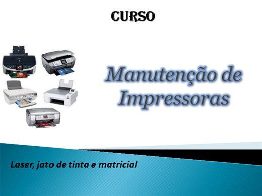 Curso Online de Manutenção de Impressoras