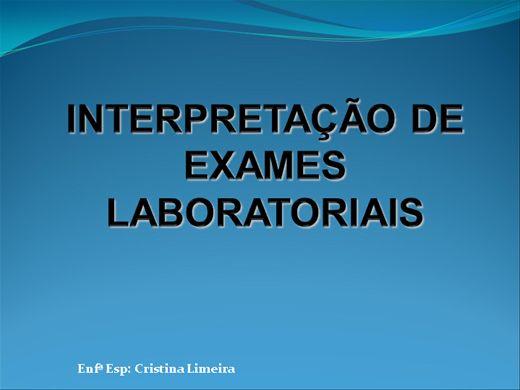 Curso Online de Interpretação Exames Laboratoriais