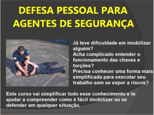 Curso Online de Defesa Pessoal (Vigilante e policial)