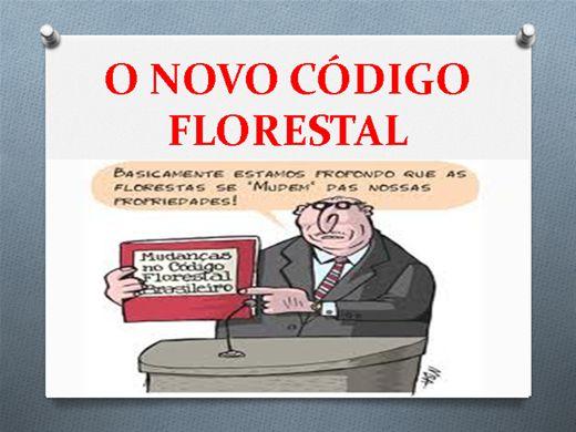 Curso Online de NOVO CÓDIGO FLORESTAL