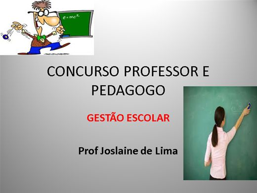 Curso online de preparat rio para o concurso de professor for Concurso profesor