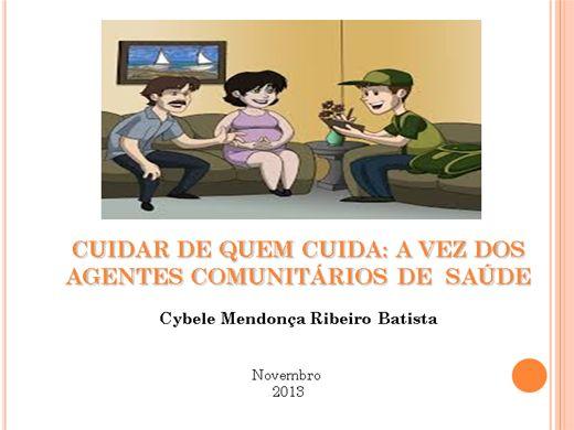 Curso Online de CUIDAR DE QUEM CUIDA